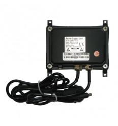 Vodotěsný zdroj 100-240V AC, výstup 12V/2A DC, IP66, včetně úchytu na stěnu
