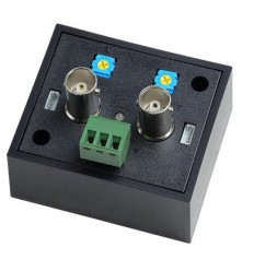 Video zesilovač, pro AHD/TVI/CVI, zvětšení dosahu přes 600m, korekce kmitočtů a jasu