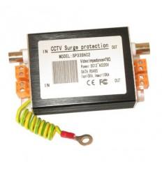 Přepěťová ochrana napájení,video portů a datové sběrnice v jednom, BNC+svorkovnice, zemnící vodič