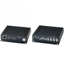 HDMI/USB/RS232/IR/audio přes LAN, i vícebodové propojení, cena za pár