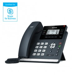 "Yealink SIP-T42G IP tel., PoE, 2,7"" 192x64 LCD, 15 prog.tl., GigE, Skype for Business"