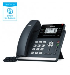 "Yealink SIP-T41P IP tel., PoE, 2,7"" 192x64 LCD, 15 prog.tl., Skype for Business"