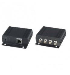XL-ECP14, Ethernet switch s vestavěnými pasivními konvertory, 10/100Base-TX na 75 ohm koax. vedení