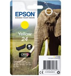 Epson Singlepack Yellow 24 Claria Photo HD Ink