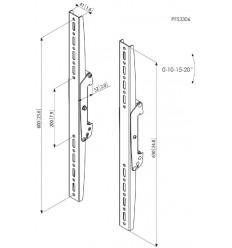 Vogel´s Svislá ramena Connect -it PFS 3306, 630mm