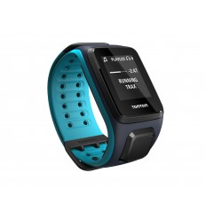 TomTom GPS hodinky Runner 2 Cardio + Music (L), modrá/modrá