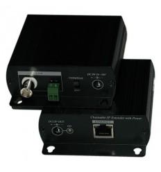 Ethernet extender po koaxu do 1500m, 1ks pro účely řetězení - Doprodej