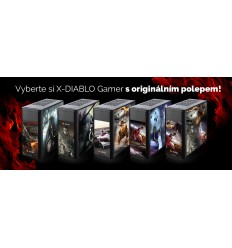 X-DIABLO GAMER_5000 - konfig. polepu