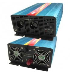 Měnič napětí Carspa P2000U-24 24V/230V+USB 2000W, čistá sinusovka