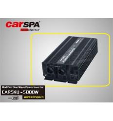 Měnič napětí Carspa CAR5KU-12 12V/230V+USB 5000W, modifikovaná sinus