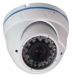 4in1 dome kamera, 2Mpix, Sony Starvis 1/2,8 palce , autoiris ICR 2,8-12mm, IR30m, WDR, IP66, UTC, bílá