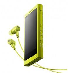 Sony MP4 16GB NW-A35HN žlutý ,Hi-res + sluchátka