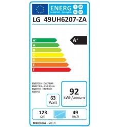 """LG 49"""" LED TV 49UH6207 UHD/DVB-T2CS2"""