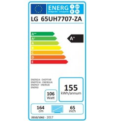 "LG 65"" LED TV 65UH7707 SUPER 4KUHD/DVB-T2CS2"