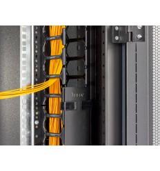 Vyvazovací panel 10U - Hřeben, RAL9005