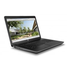 HP ZBook 17 G4 FHD/i7-7700HQ/8G/256G/NVIDIA M2200/VGA/DP/RJ45/WFI/BT/MCR/FPR/3RServis/W10P