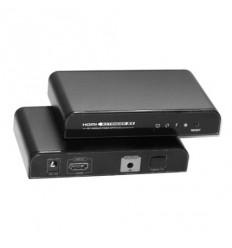 HDMI přenos po LAN, WDM 100Base-FX(SC), UDP/Multicast, 1080p,s IR přenosem ovládání, pár