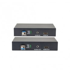 HDMI a audio přenos po optice , nekompresovaný,real-time, 1080p, pár, včetně SFP+ modulů