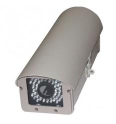 Kryt na kameru, vyhřívaný, cirkulace, s IR světlem 15-30m/úhel 45st., venkovní, kovový,odklopný,230V