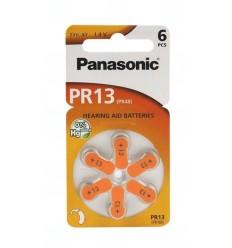 Baterie Panasonic DA13, ZA13, 13A, DA13N, PR13, PR48, V13A, R13ZA, 1,45V, blistr 6 ks