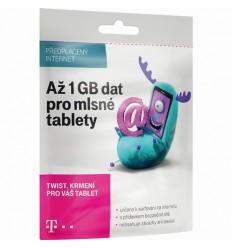 T-Mobile SIM s kreditem 410Kč Twist Online 1GB