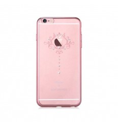 Pouzdro DEVIA motiv Iris pro iPhone 6/6S rose gold