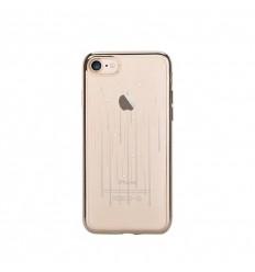 Pouzdro DEVIA motiv Meteor pro iPhone 7 champagne gold