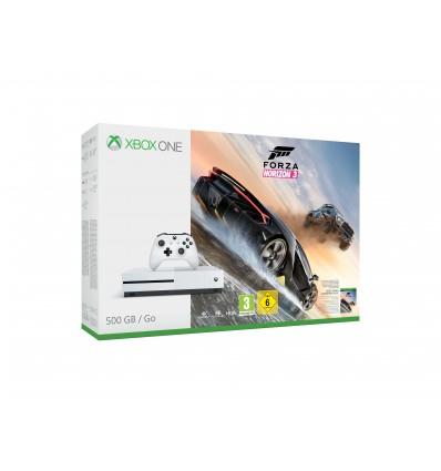 XBOX ONE S 500 GB + 1 x hra (Forza Horizon 3) - akční výprodej
