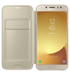 Samsung Wallet Cover J7 2017, gold