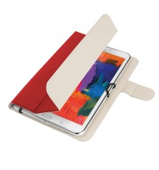 "TRUST Aexxo Universal Folio Case for 7-8"" tablets - red"