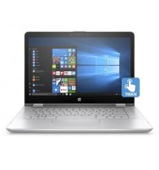 HP Pavilion 14 x360-ba010nc FHD i5-7200/8GB/128SSD+1TB/NV2GB/2RServis/W10H/Mineral Silver