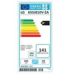 """LG 65"""" LED TV 65SJ810V SUPER 4KUHD/DVB-T2CS2"""