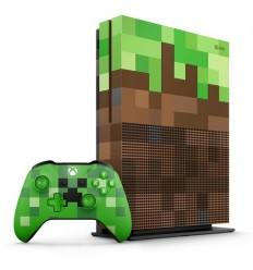 XBOX ONE S 1 TB Limitovaná Edice Minecraft - NOVINKA - vychází 3.10.2017 - předobjednávky