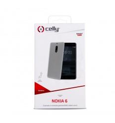 TPU pouzdro CELLY Nokia 6, bezbarvé