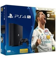 PS4 Pro - Playstation 4 Pro 1TB + FIFA18 Ronaldo edition + PS Plus 14 dní