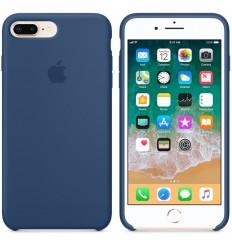 iPhone 8 Plus / 7 Plus Silicone Case - Blue Cobalt