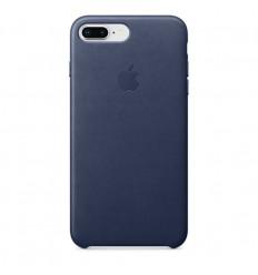 iPhone 8 Plus / 7 Plus Leather Case - Midnight Bl