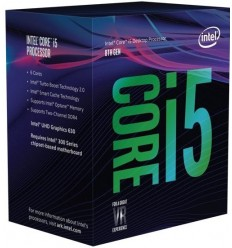 CPU INTEL Core i5-8400 BOX (2.8GHz, 9M, LGA1151)