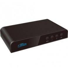 Škálovač HDMI. Možný 2D/3D převod. Digitální vylepšení obrazu. Otáčení obrazu.