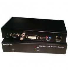 IP HD enkoder, realtime, 1x HDMI in, DVI in, VGA in, YPbPr in, CVBS in,audio in, H.264, TS stream