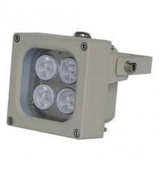 Infra osvětlení, 940nm, 30-40m, venkovní, 12V DC, úhel 45 st, 10W, IP66