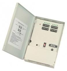 Napájecí zdroj s baterií, 12V DC, nástěnný, 8x výstup, 3,5A, součástí baterie 3Ah, fanless