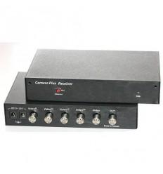 Rozšíření kapacity existujícího koax. vedení na pět kamer, pár zařízení