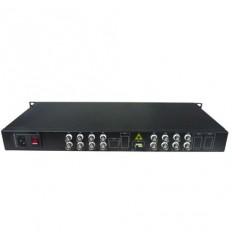 VT11601R opto konvert. 16x Video, 1x COM, RX