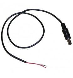 Napájecí kabel/pigtail s jedním napájecím konektorem (2,5mm samec) pro konvertory apod., 50cm