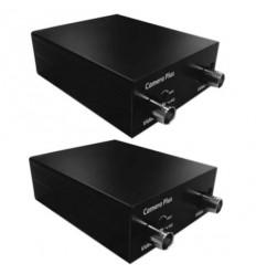 Rozšíření kapacity existujícího koax.vedení na dvě kamery, pár zařízení