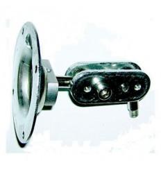Držák na kameru, venkovní, 2x kloub, kovový, nízký, 110mm