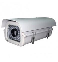 Kryt na kameru,vyhřívaný,cirkulace,s IR světlem do 80m/úhel 30st.,venkovní, hliník, odklopný,12-24V