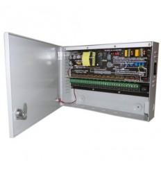 Zdroj pro analog. kamery, 11-14V DC nastavitelné, 16 portů, 12A,150/170W, PTC, skříňka