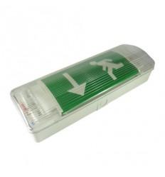 LED nouzové svítidlo IP20, 1W, 240V, 3,6V Ni-Cd